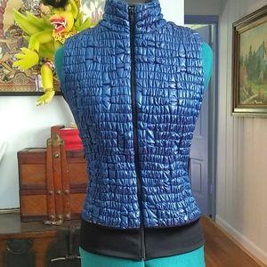 Anatomie Blue Puffer Vest